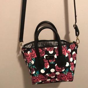 Rose betsey Johnson purse